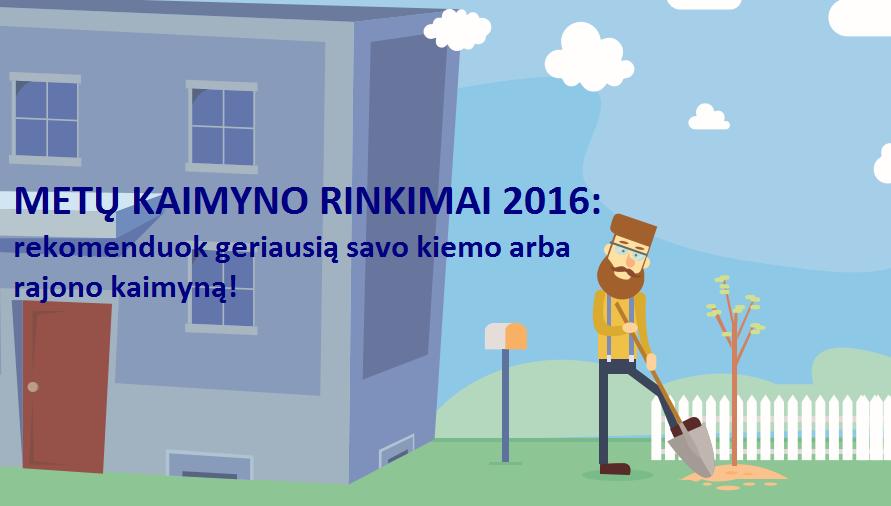 Metu kaimyno rinkimai FB Cover
