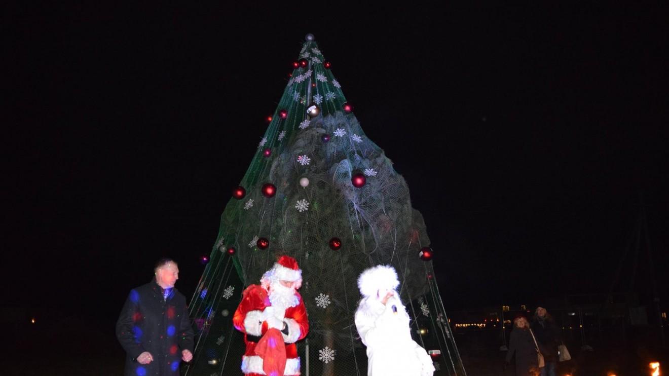 Šilainių Kalėdų eglės įžiebimo šventė.