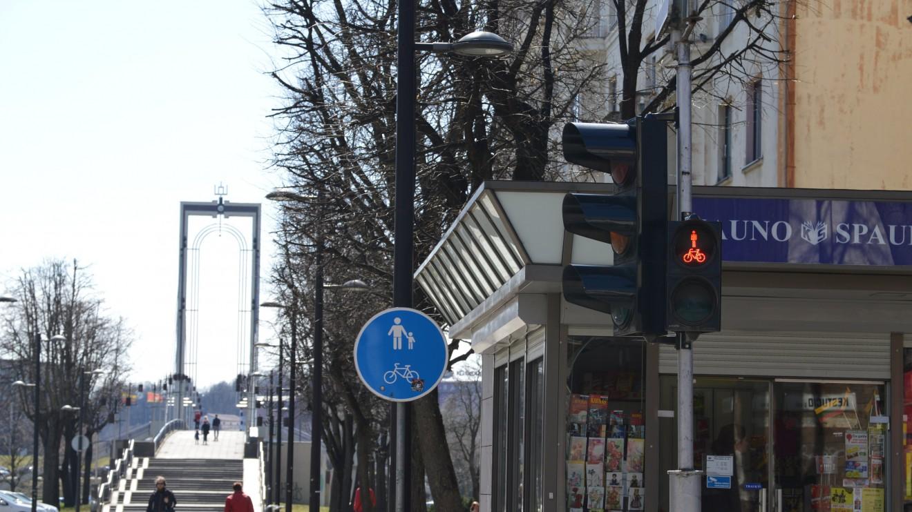 Ar Kaune pakanka dviračių takų?