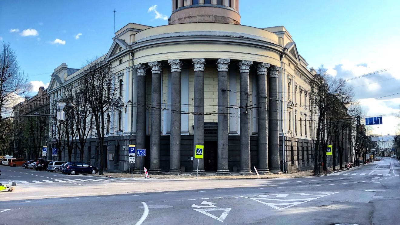 Kauno valstybinė filharmonija (Lietuvos Teisingumo ir Seimo rūmai) 1925m. Architektas: Edmundas Alfonsas Frykas.