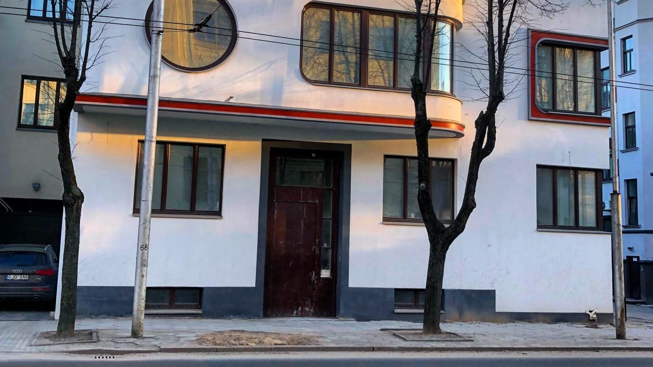Prano Gudavičiaus ir Aleksandros Ilijienės namas. Donelaičio g. 19. Architektas: Arnas Funkas 1933 m.
