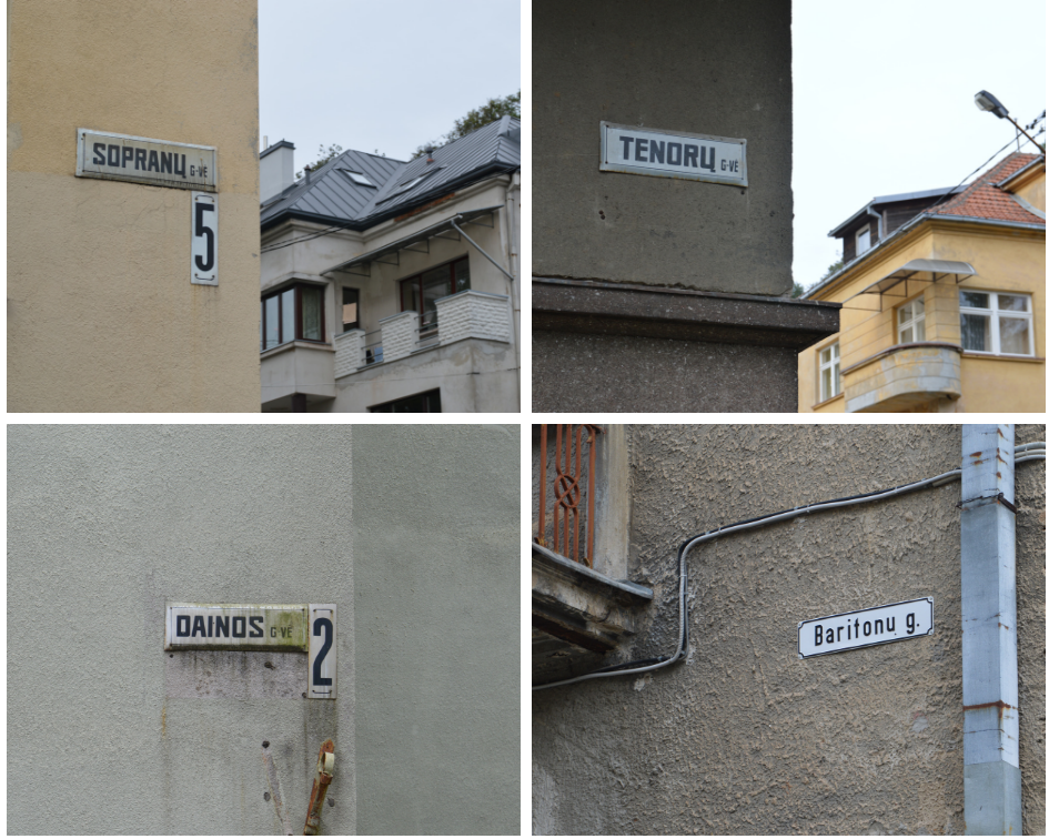 Galbūt čia gyvena muzikantų šeimos?
