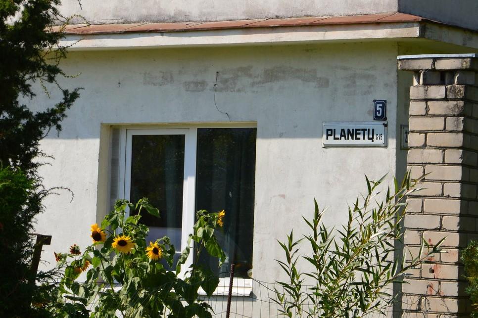 Kaune yra kvartalas, kurio gatvės pavadintos kosminiais vardais.
