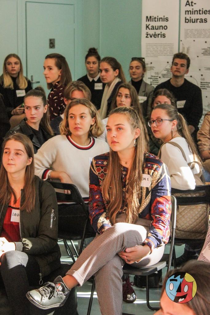Šeštadienį, spalio 13 d., įvyko pirmasis susitikimas su programos dalyviais.