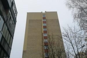 Taip atrodo Partizanų g. 138 namas po fasado tvarkymo darbų.